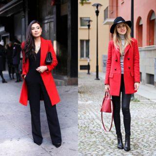 Fashion tip: cappotto rosso (non solo a Natale)