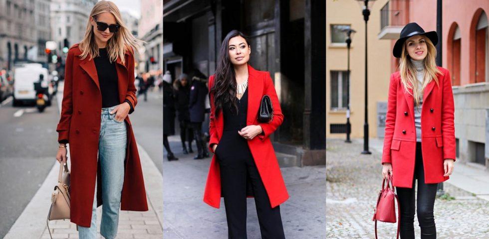 Cappotto rosso, i consigli per abbinarlo (non solo a Natale)