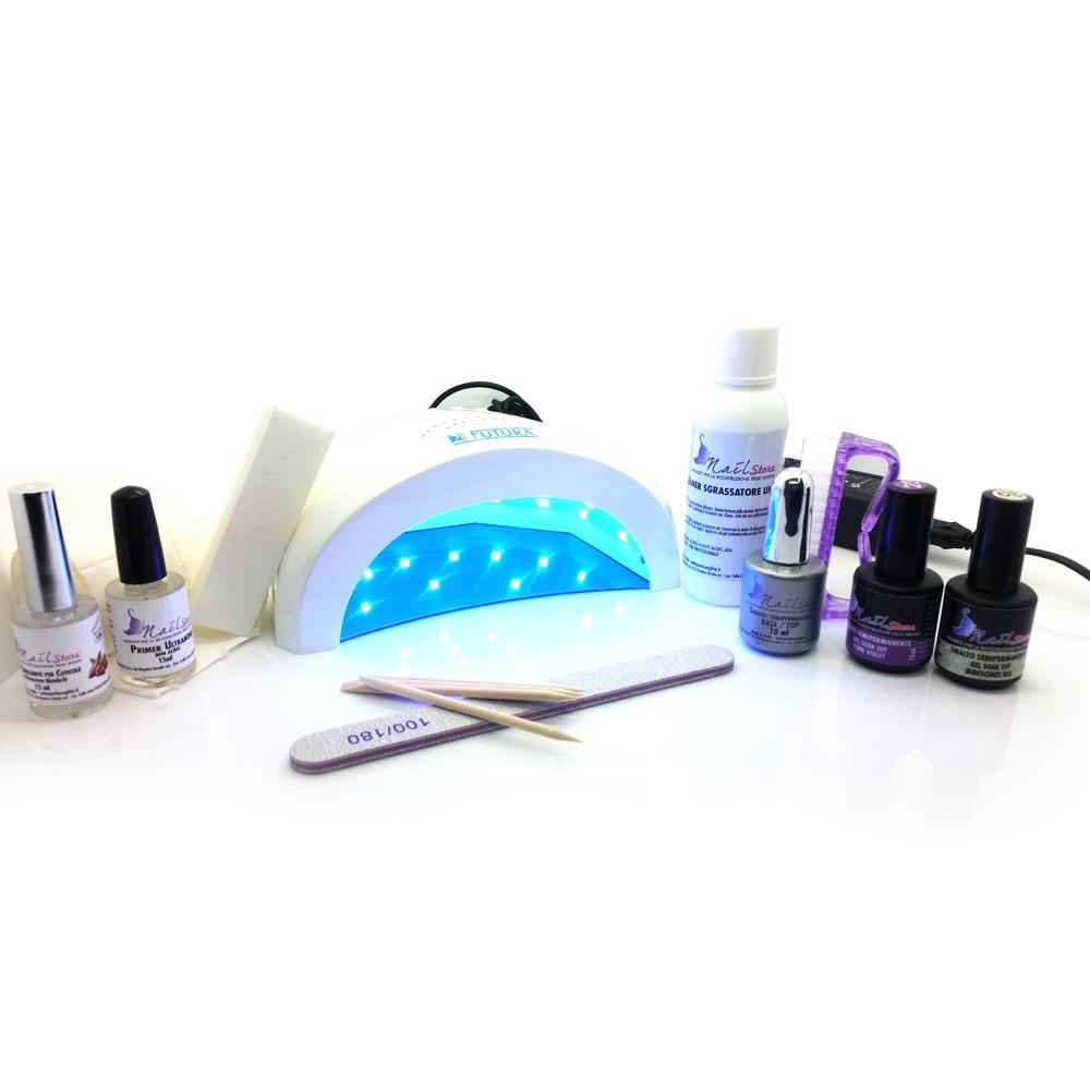 Kit semipermanente con Lampada UV LED CON LAMPADA 48W - Futura