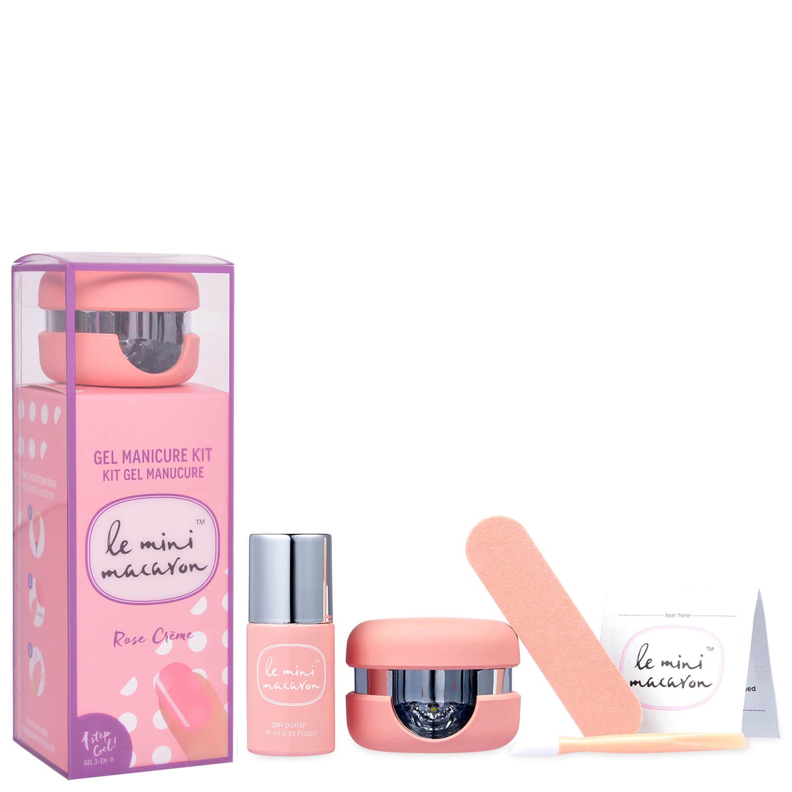e Mini Macaron Gel Manicure Kit - Rose Crème