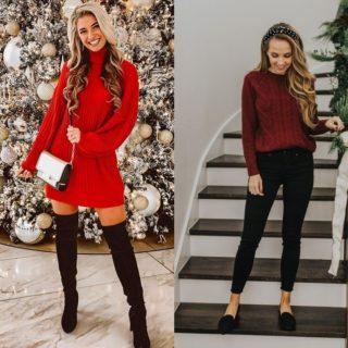 Fashion Tip: outfit di Natale semplici e comodi da indossare