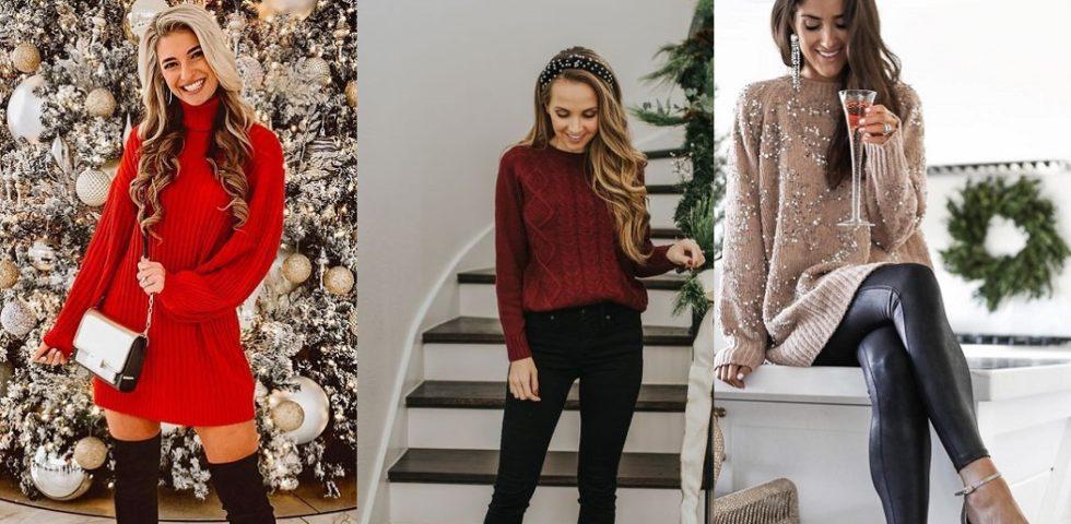 Outfit di Natale semplici e comodi da indossare