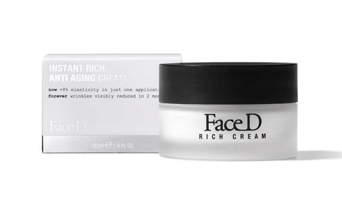 FaceD - Instant Rich Crema Anti-Età