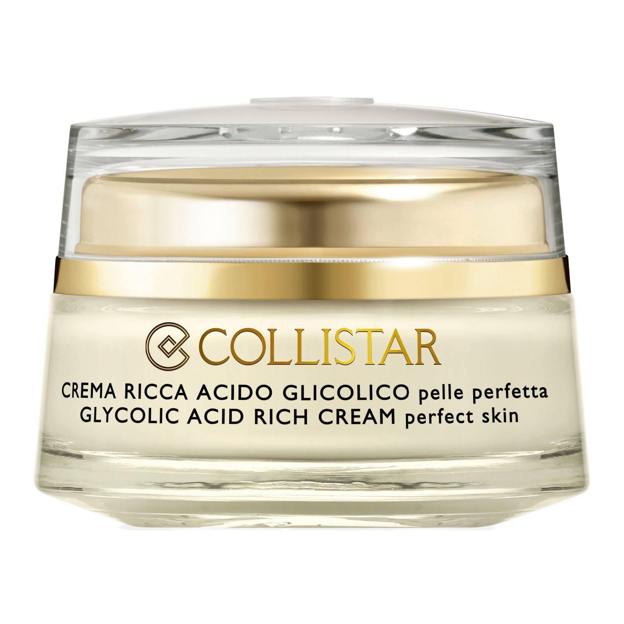 Crema Ricca Acido Glicolico Pelle Perfetta - Collistar