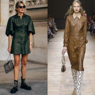 Fashion tip: vestiti in pelle, gli abbinamenti vincenti