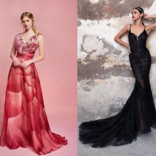 Non solo bianco: gli abiti da sposa colorati