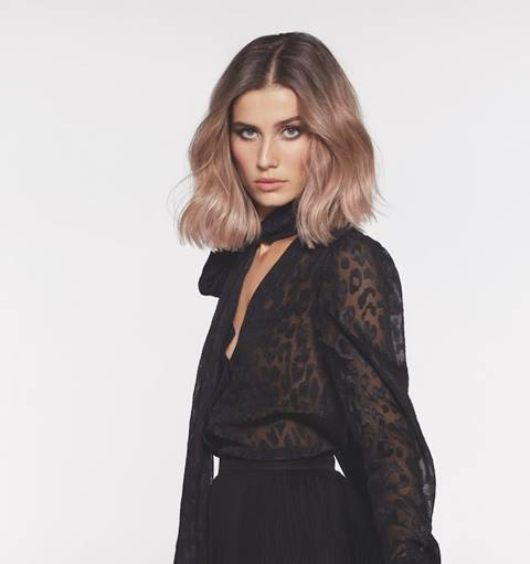 Smoky Hair L'Oréal Professionnel Cool and rosy beige