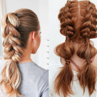 Bubble braids, come si fanno?