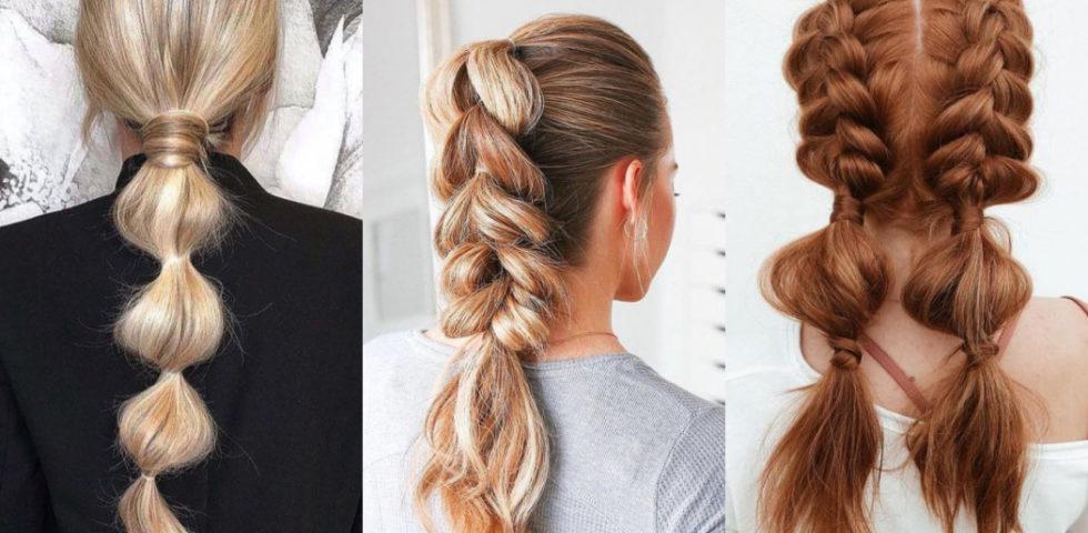 Bubble braids: come fare le trecce a bolla