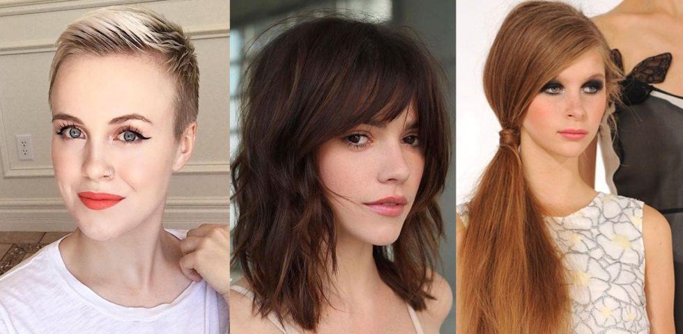 I tagli di capelli e le acconciature per il viso ovale
