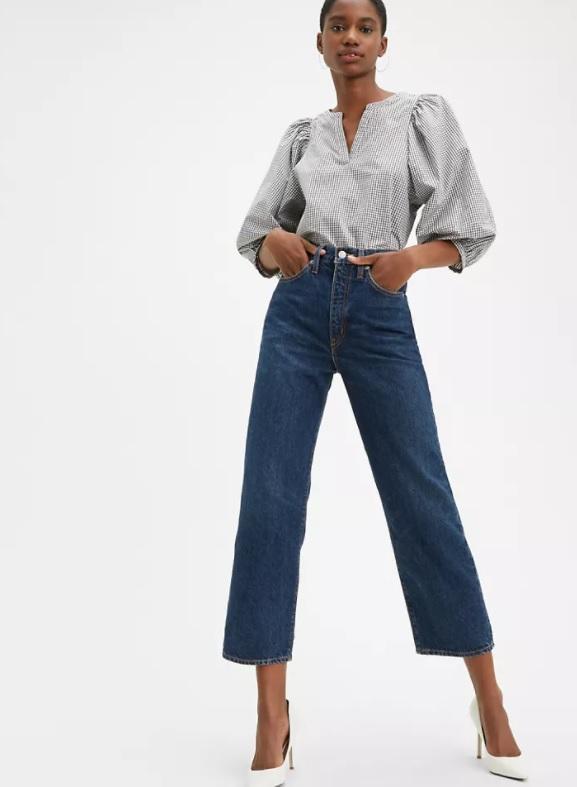 Jeans Levi's in canapa cotonizzata