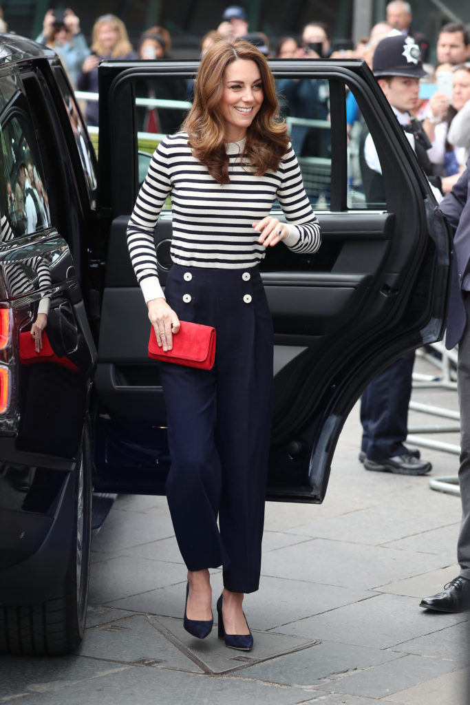 Kate Middleton look stile navy