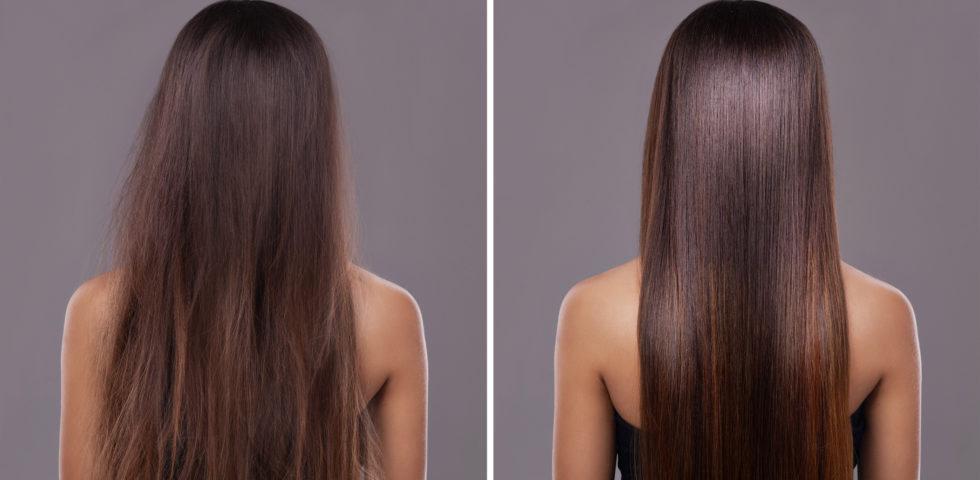 Come avere capelli lisci ed eliminare l'effetto crespo