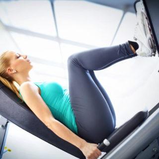 Leg press, gli esercizi che fanno più belle le gambe