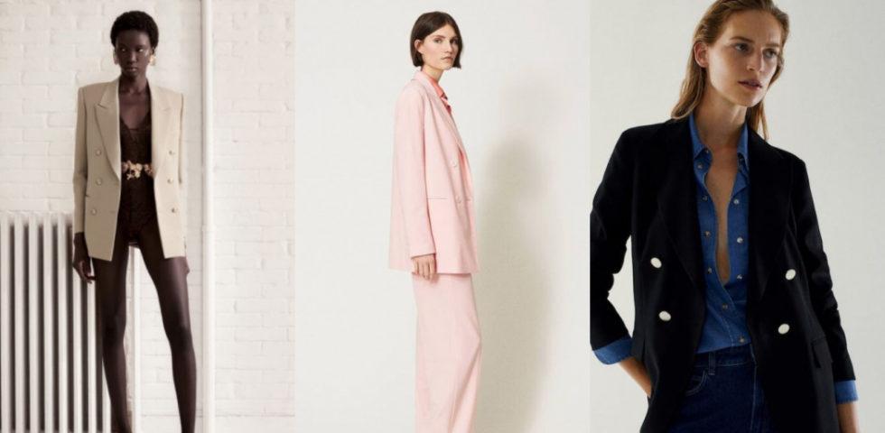 Giacca doppiopetto donne: gli outfit per indossarla con stile