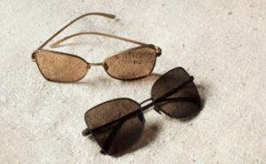 Chanel occhiale da sole a farfalla primavera estate 2021