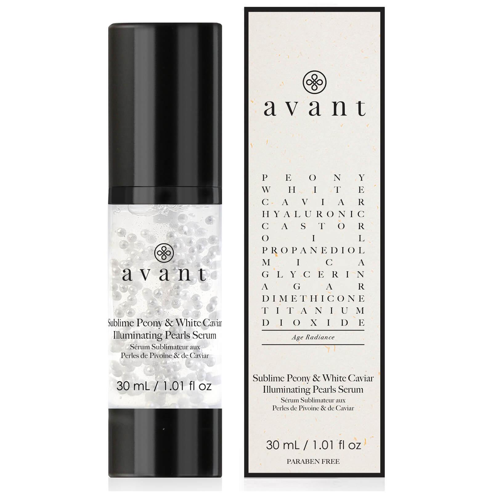 Creme viso al caviale: Avant Skincare - Sublime Peony and White Caviar Illuminating Pearls Serum
