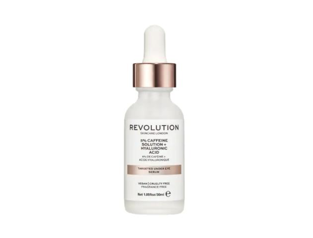 Revolution - Siero per il contorno occhi - Soluzione con 5% caffeina + acido ialuronico