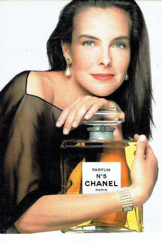Carol Bouquet e chanel n 5