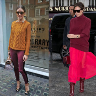 Fashion Tip: bordeaux, gli abbinamenti di colore perfetti