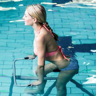 Hydrobike, il potere rigenerante della pedalata in acqua