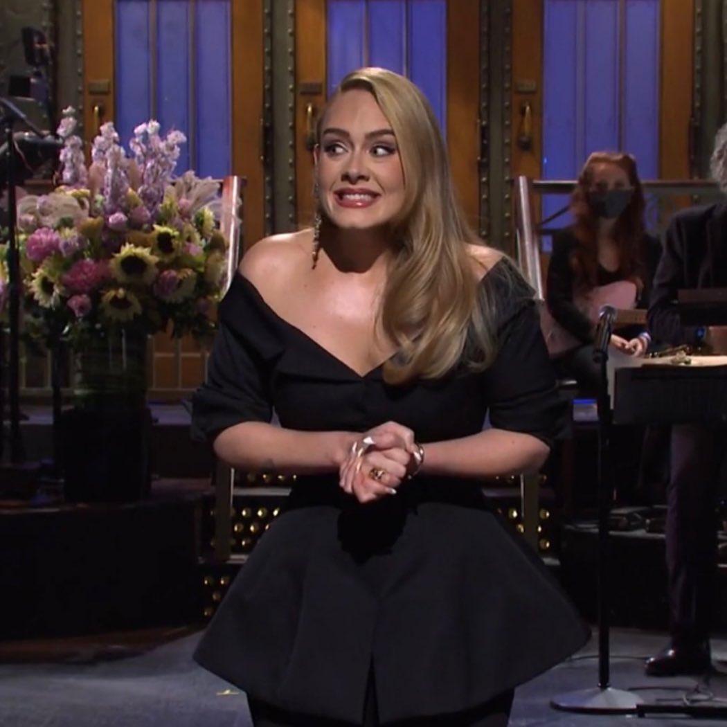 Adele al Saturday night live 2020