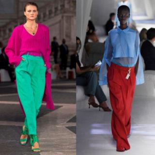 Fashion Tip: pantaloni colorati, gli outfit a cui ispirarsi