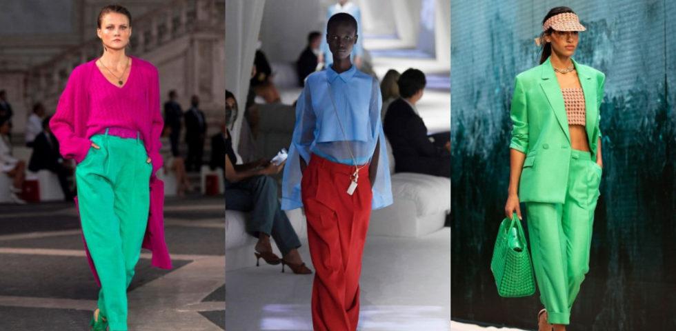 Pantaloni colorati: i consigli per indossarli