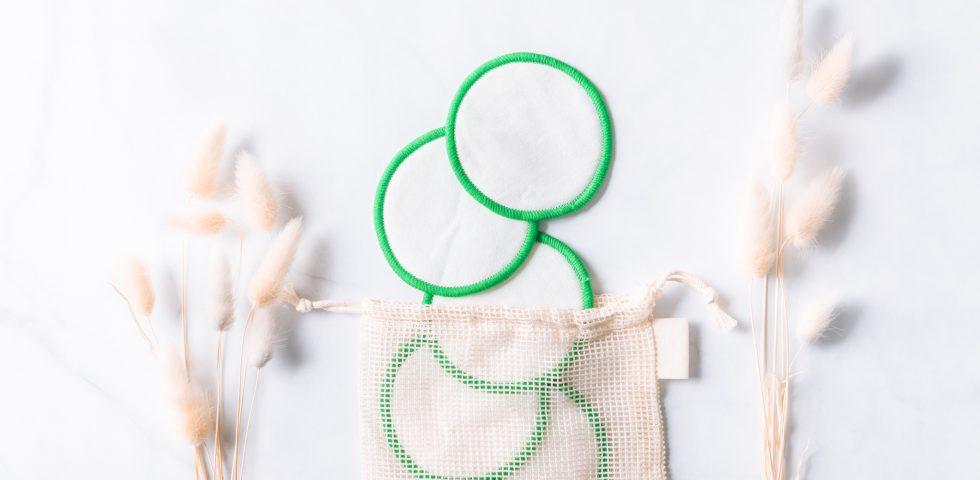 Dischetti struccanti lavabili, una scelta che fa bene all'ambiente