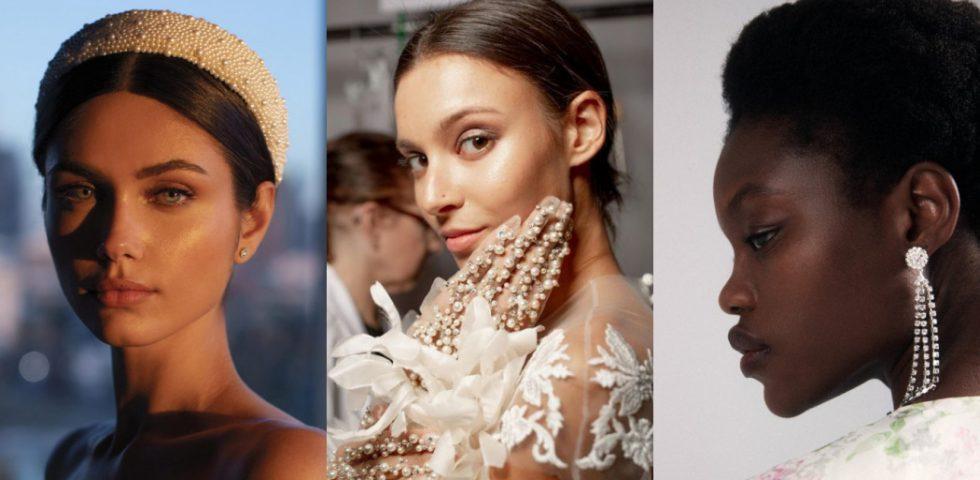 Moda sposa 2021: gli accessori (orecchini, fascinator, guanti & Co.)