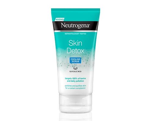 Neutrogena Skin Detox Esfoliante viso ad azione rinfrescante