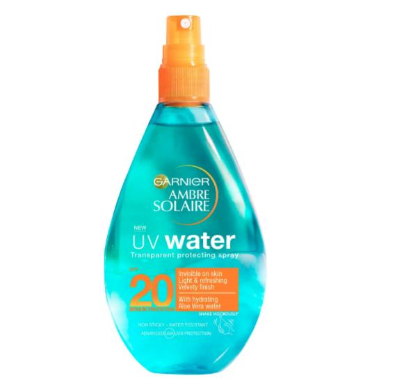 Ambre Solaire - UV Water Aloe Vera Clear Sun Cream Spray