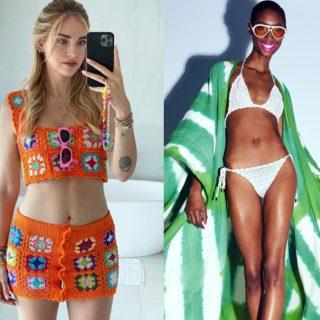Crochet, la tendenza dell'estate (per accessori e vestiti)