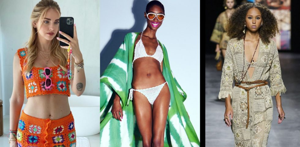 Crochet, la tendenza dell'estate 2021(per vestiti, costumi e accessori)