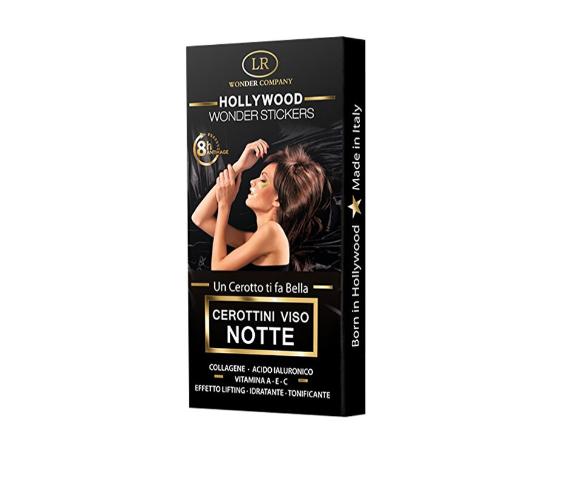 Wonder Stickers Hollywood Cerottini viso notte anti-età