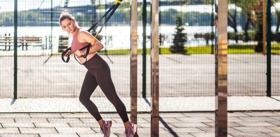 Trx, l'allenamento in sospensione da fare ovunque e a tutte le età
