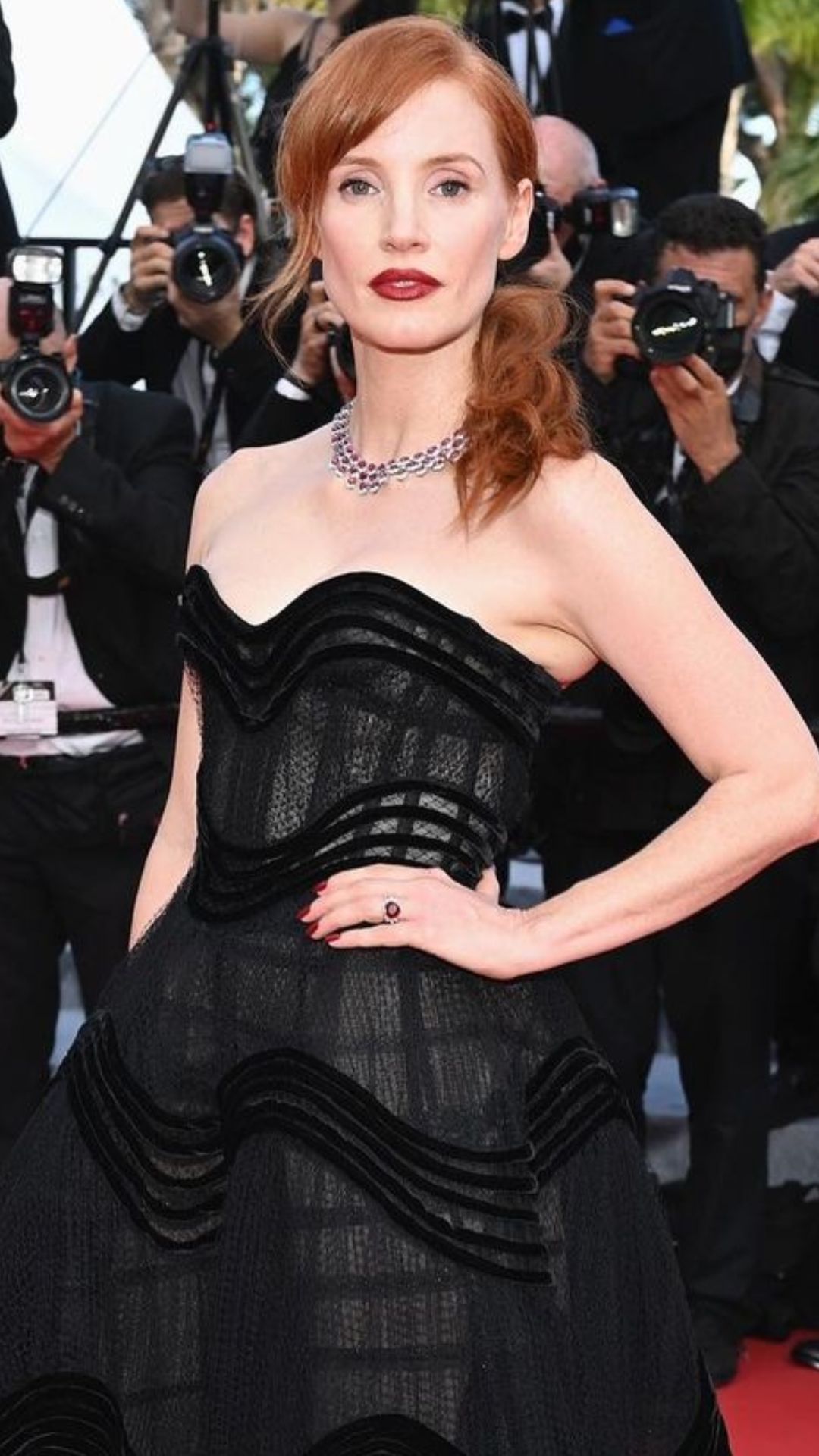 beauty look cannes 2021