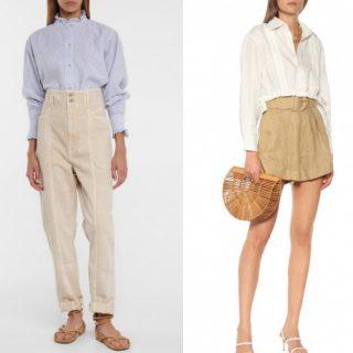 Camicia di lino: i look anti caldo (per mare e città)