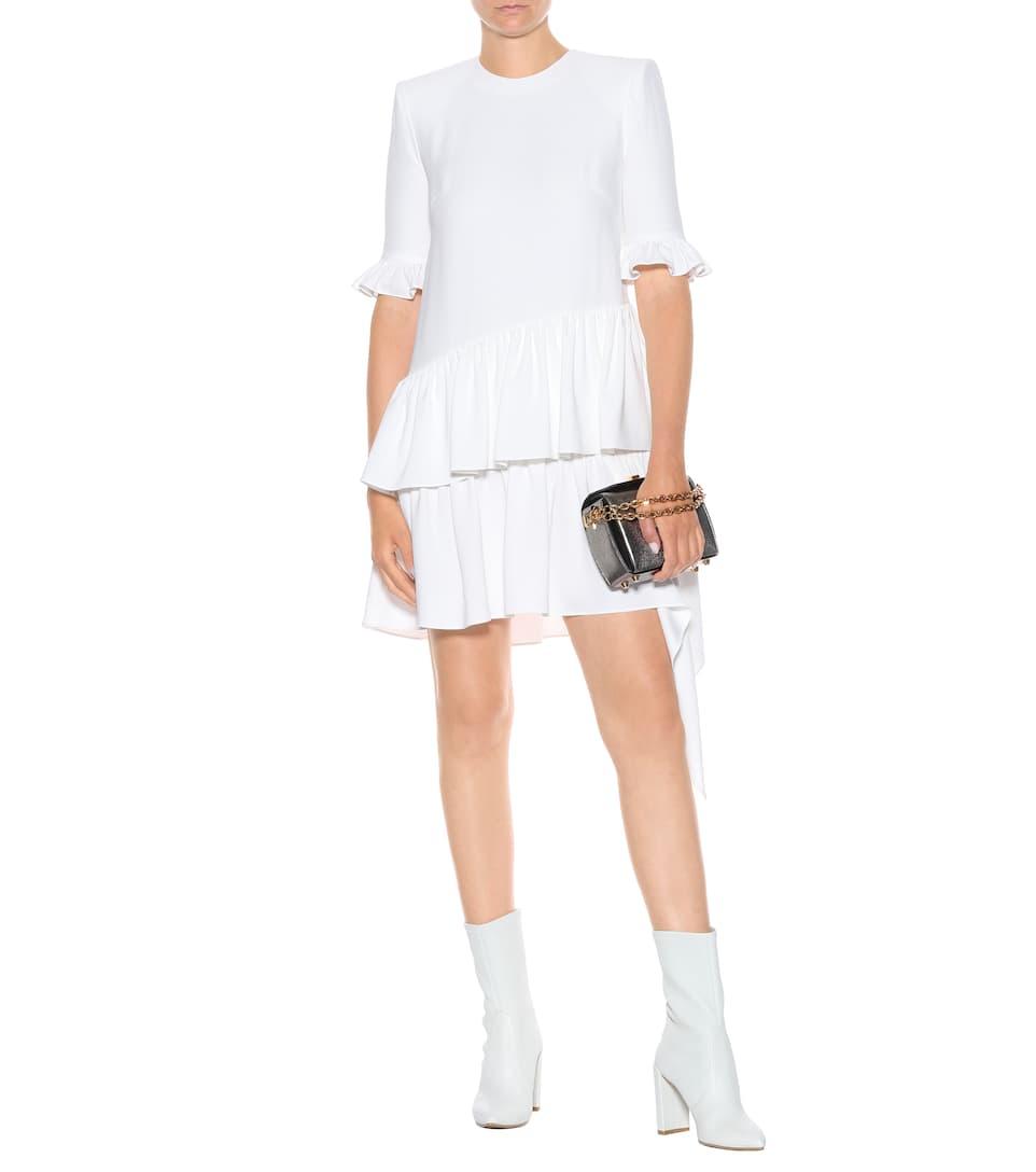 vestito con balze