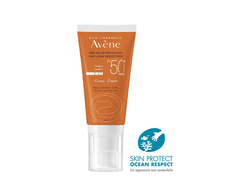 Avene Crema Solare per pelli sensibili SPF50+
