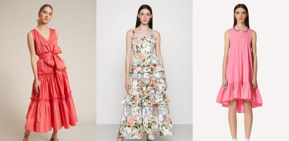 Vestito a balze, i modelli più belli dell'estate 2021
