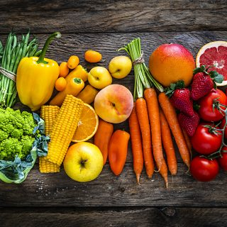 Dieta dei colori, un toccasana per corpo e mente