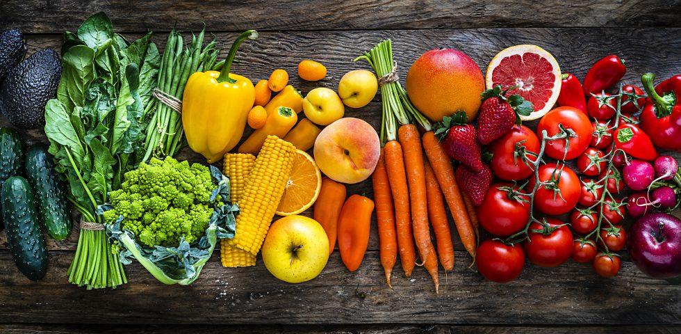 Dieta dei colori, come i colori del cibo aiutano il benessere di corpo e mente