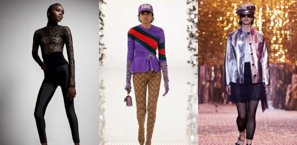 Moda autunno-inverno 2021/2022: il ritorno dei leggings