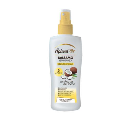 Balsamo Spray Acqua Di Cocco Balsamo Capelli