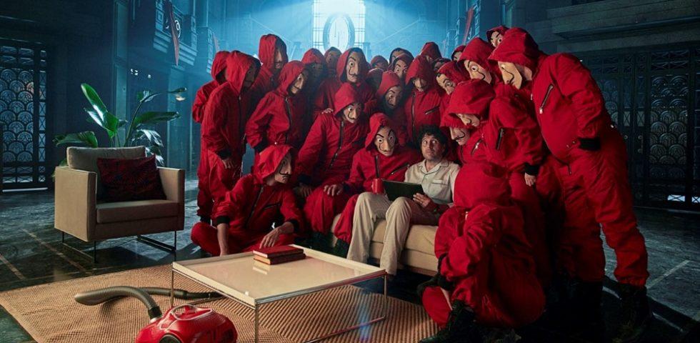 Vodafone e Netflix si sposano: nello spot l'ultima stagione de La Casa di Carta