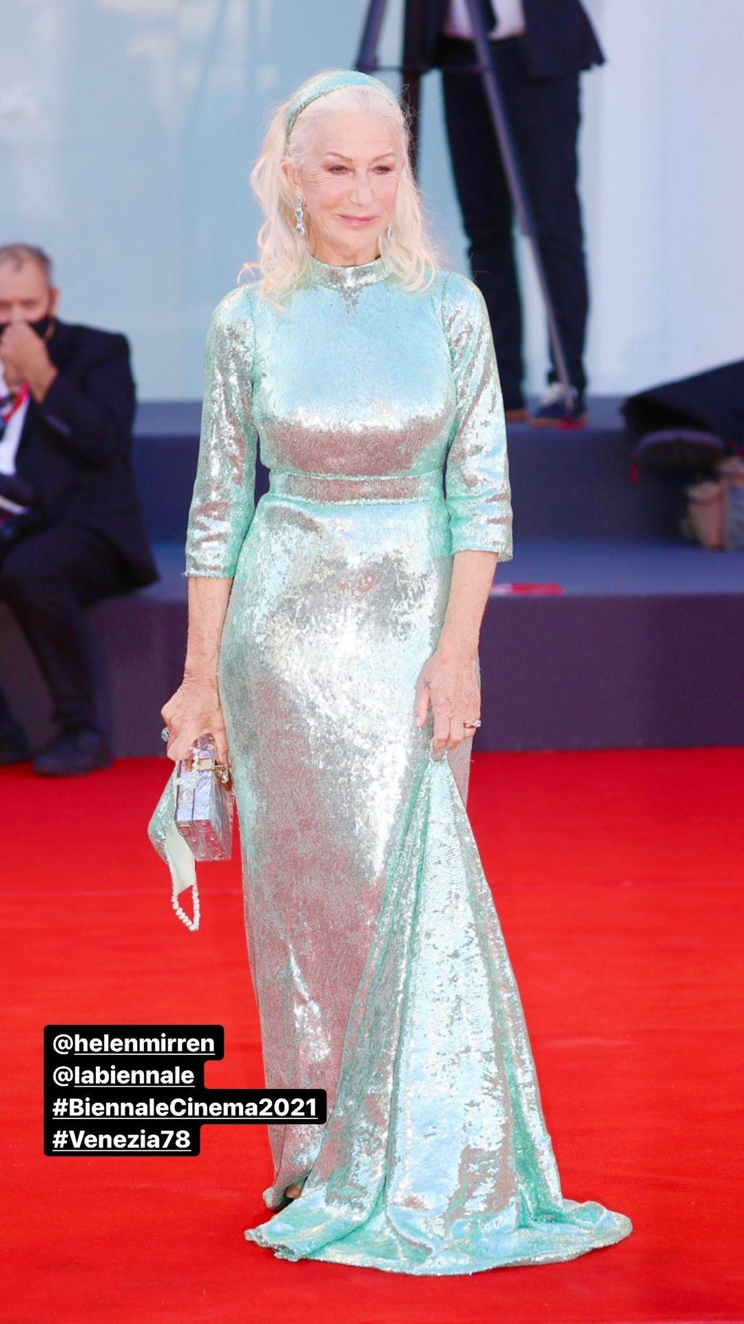 Helen Mirren in Dolce&Gabbana