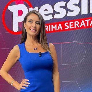 Chi è Monica Bertini, conduttrice di Pressing su Rete 4