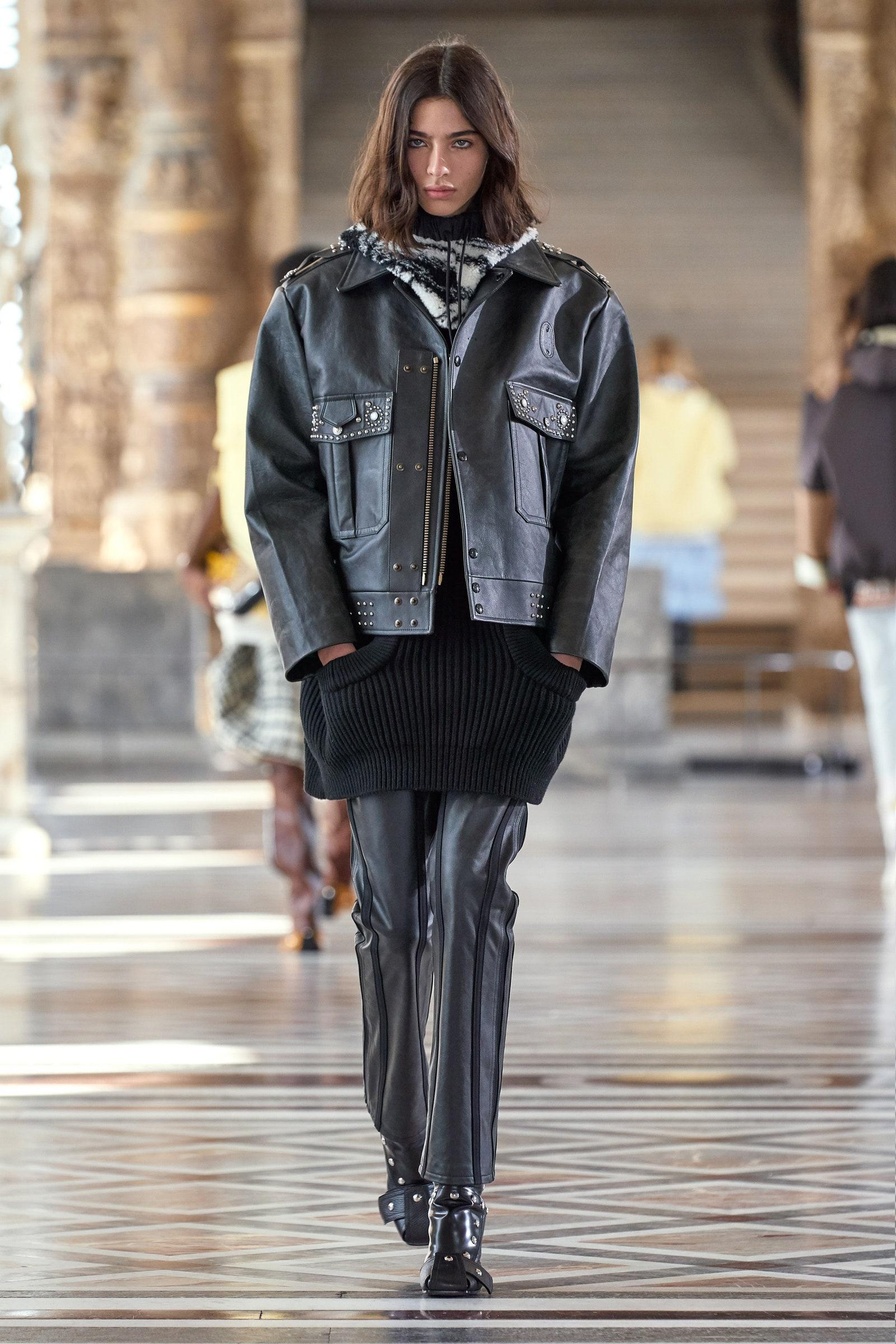 giacca di pelle