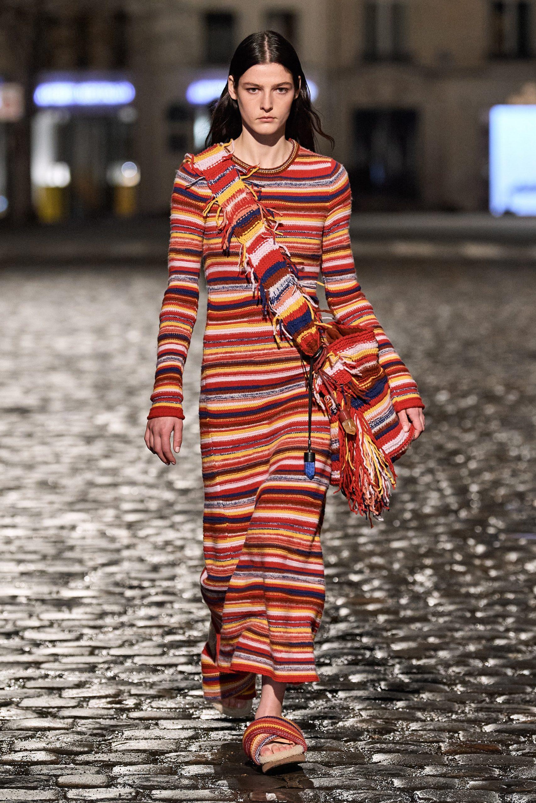 vestiti lunghi in lana